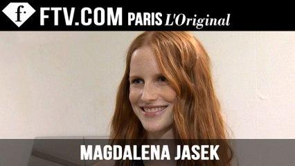 Magdalena Jasek: Model Talk | Spring/Summer 2015 | FashionTV