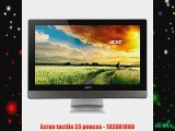 Acer Aspire Z3-615 Ordinateur de bureau Tout-en-un tactile 23 (Intel Pentium Disque dur 1 To