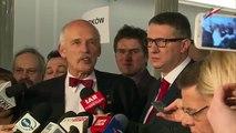 Janusz Korwin-Mikke i Przemysław Wipler - Rejestracja nowej partii KORWiN (22.01.2015)
