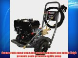 Campbell Hausfeld PW2770 2750 PSI 2.5 GPM Honda GX160 Gas Powered Pressure Washer With 25-Foot