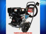 Maxus MX5433 4000 PSI 3.5 GPM Honda GX270 Gas Powered Pressure Washer With 50-Foot Hose