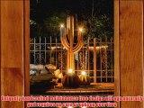 Desert Steel 152-062A Saguaro Cactus Tiki Torch 6.5-Feet