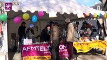 Téléthon 2014 : village Téléthon place Pey Berland à Bordeaux (33)