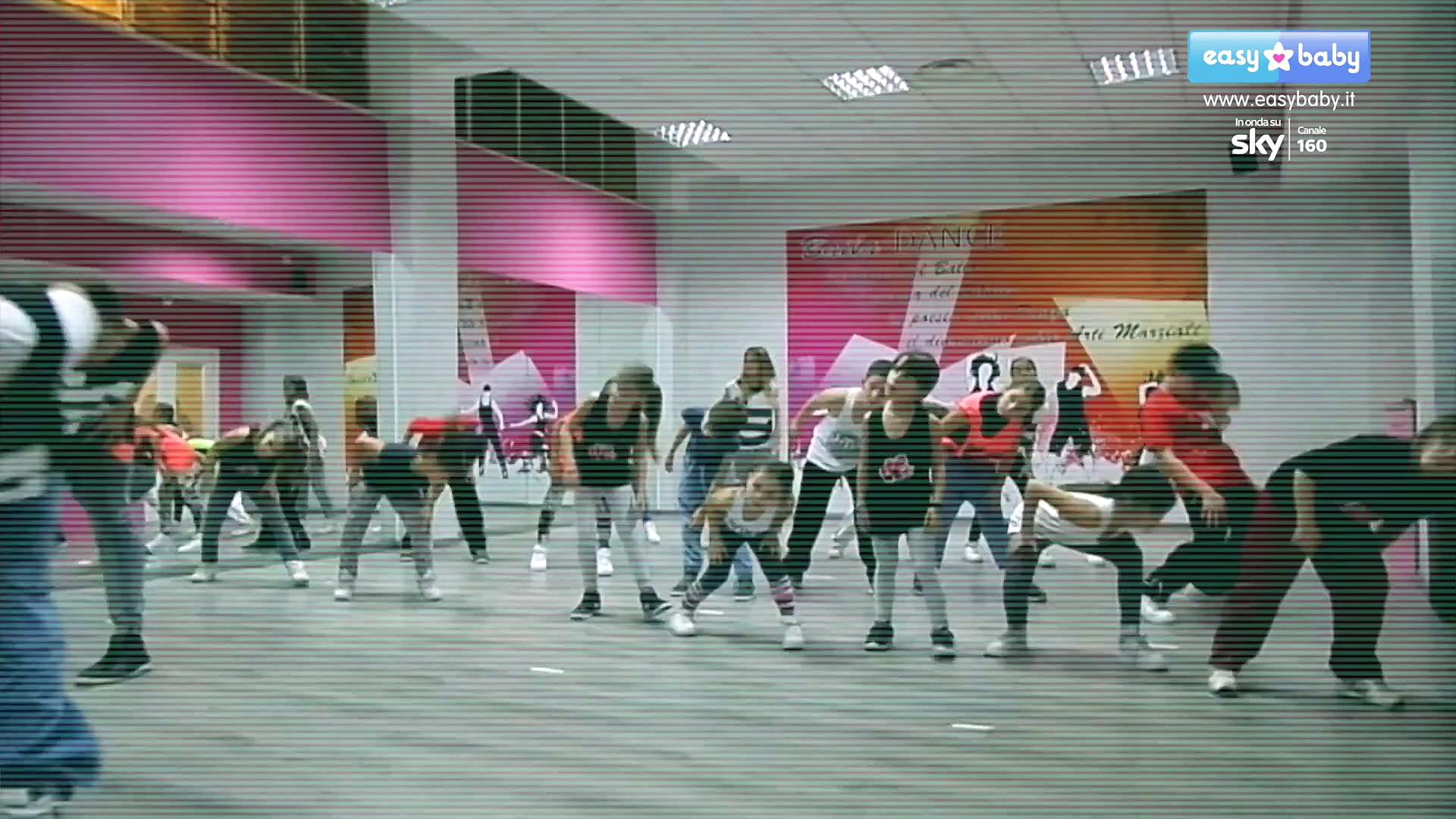 Easy Dance - Ep1 - Hip Hop Dance Tutorial - Conduce Giuseppe Meli - CH. 160 SKY