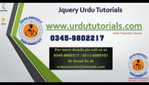 Jquery Urdu Tutorials Lesson 72 Creating form html and css