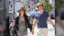 Nikki Reed Surprises Fiancé Ian Somerhalder