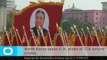 North Korea Seeks U.N. Probe of 'CIA Torture Crimes'