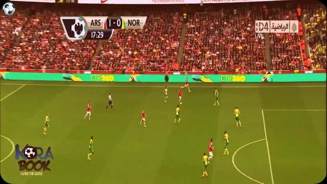 Amazing Goal~~~ Arsenal 4 - 1 Norwich City Premier League 19.10.2013