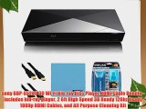 Sony BDP-S5200 3D Wi-Fi Blu-ray Disc Player HDMI Cable Bundle - Includes blu-ray player 2 6ft