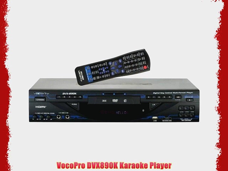 VocoPro DVX890K Karaoke Player