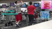 Eating Junk Food at the Gym - Social Experiment - Pranks on People - Funny Videos - Best Pranks 2014