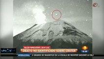 UFO SUL VULCANO POPOCATEPETL - RIPRESA WEBCAM (8 Novembre 2012)