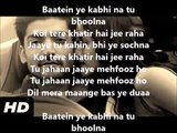 Baatein Ye Kabhi Na Full Song With Lyrics _ Arijit Singh _ Khamoshiyan 2015 by Asim Butt