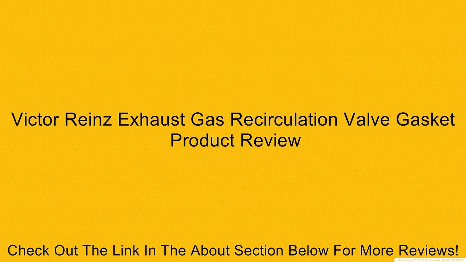Victor Reinz Exhaust Gas Recirculation Valve Gasket