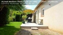 A vendre - maison - TOULOUSE (31100) - 5 pièces - 113m²