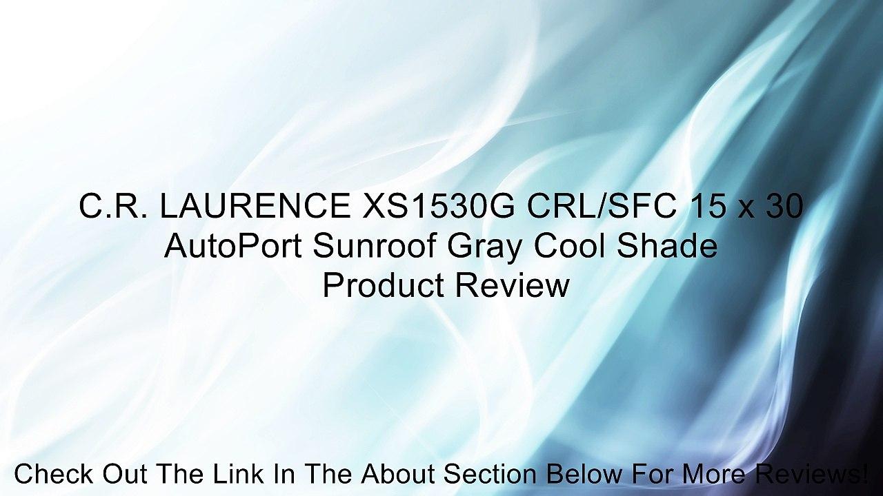 C.R LAURENCE AP1530B5H CRL//SFC 15 x 30 AutoPort Sunroof Universal Trim Ring Solar High Performance Glass