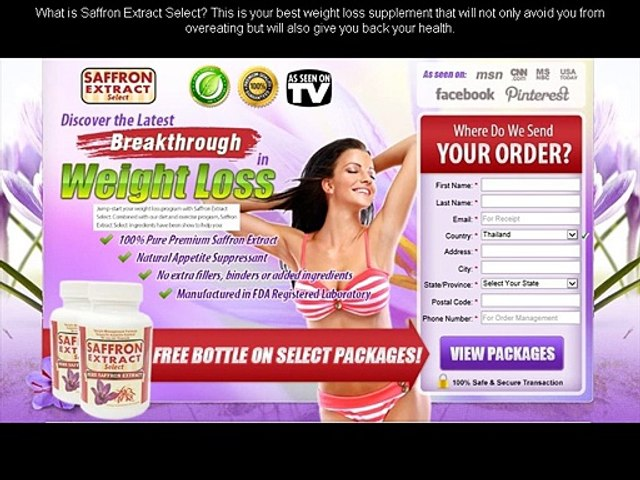 Saffron Extract Select Reviews Saffron Extract Weight Loss
