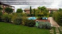 A louer - appartement - GAGNAC SUR GARONNE (31150) - 2 pièces - 42m²
