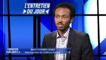 L'entretien du jour du  210115 Maki Houmed-Gaba : Représentant de l'USN en France