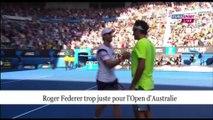 Open Australie : Roger Federer et Richard Gasquet déjà éliminés !
