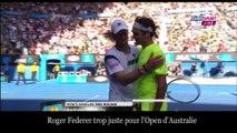 Open Australie : Federer éliminé, l'incroyable balle de match de Seppi