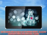 9 Upgraded Dual Core Android Tablet PC - 5 point Capacitive Display Touchscreen 1024 x 600