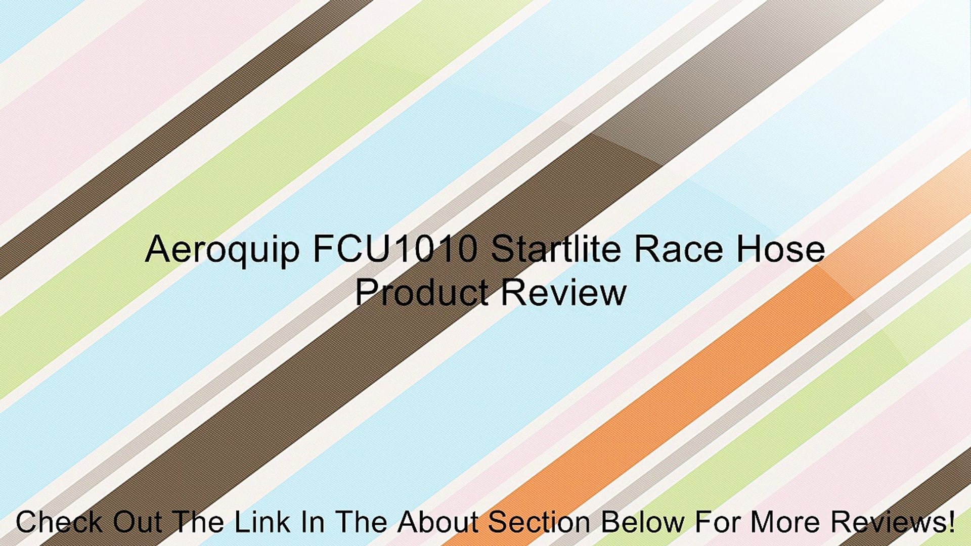 Aeroquip FCU1010 Startlite Race Hose