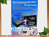 Premium Arabic Channels Internet Iptv Box with 400  Hd Arabic Channels All Bein Sport