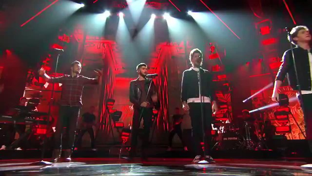 Finale One Direction Performs Midnight Memories on The X Factor - THE X FACTOR USA 2013