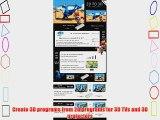 J-Tech Digital JTD-2D-3D Premium Quality Mini HDMI 2D to 3D Converter with One Free Pair 3D