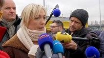 """Le Pen: """"Marion Maréchal-Le Pen prend la responsabilité de son tweet"""" sur Chauprade"""