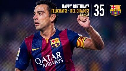 ¡Felicidades, Xavi!