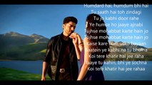 Baatein Yeh Kabhi Naa -Arijit Singh- Khamoshiyan  -OFFICIAL Video Song With LYRICS