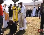 Holy Matrimony  77 couples tie the knot in mass wedding