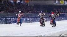 Courses moto sur glace : complètement givrés les mecs !