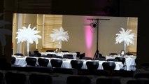 Rent Ostrich Feather Centerpieces, Wedding Reception Decorations, Wedding Centerpiece Ideas, Rentals