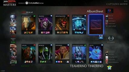 Team Tinker vs AS Game 2 - joinDOTA Masters @TobiWanDOTA @DurkaDOTA