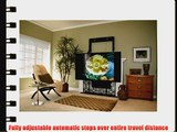 ComfortVu electronic/remote controlled television mounting system. ComfortVu moves flatscreens