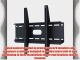 PDR Mounts PDR3760F Fixed Wall Mount for 37 to 60 Displays (Black)