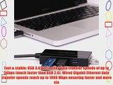 CYELEE 3-Port 5Gbps USB 3.0 HUB with 10/100/1000Mbps Gigabit Ethernet Converter (3 USB 3.0