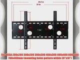 VideoSecu Black Tilt Wall Mount Bracket for LG 42 47 50 55 60 HDTV 42PA4500 42CS570 42LM6200