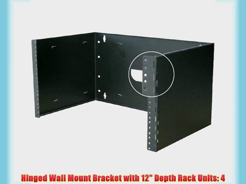Tripplite N060-004 Hinged Wall Mount Patch Panel Bracket 4u tripplite