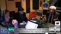 HERAULT - 2015 - INTERVIEW ANDRE VEZINHET  PRESIDENT DU CONSEIL GÉNÉRAL DE L' HERAULT
