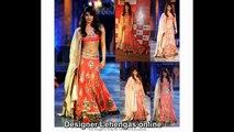 Alluring designs of Latest Designer Lehengas for women