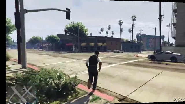 GTA V Lady Gets Destroyed