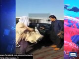 Imran Khan And Reham Khan Returning After Perfoming Umrah