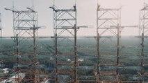 Tchernobyl sous la neige - Vues de Pripyat filmé avec un drone!