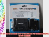 Antra AT-PAA28 Low Noise Pre-Amplifier HDTV Pre-amp Signal Booster for UHF VHF Antenna 28dB