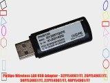 Philips Wireless LAN USB Adapter - 32PFL4907/F7 26PFL4907/F7 50PFL3807/F7 22PFL4907/F7 40PFL4907/F7