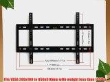 VideoSecu Brand New Black Extra Large Plasma LCD TV Wall Arm Mount Fits SONY 37-55 KDL-37XBR6